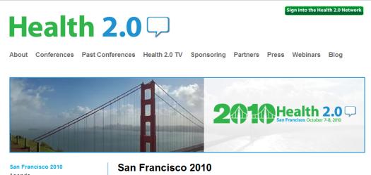 Health2.0SF2010