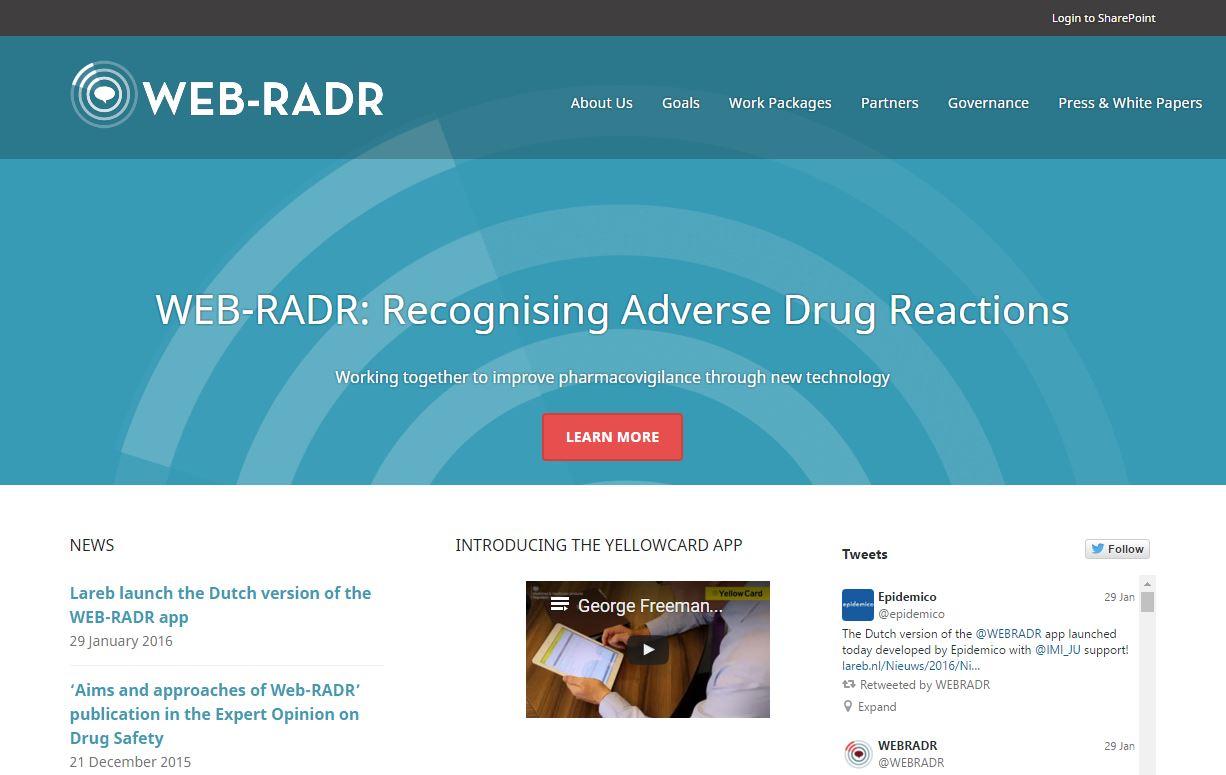 WEB-RADR